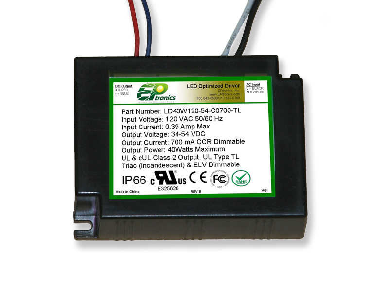 40w Triac and ELV dimmable led driver
