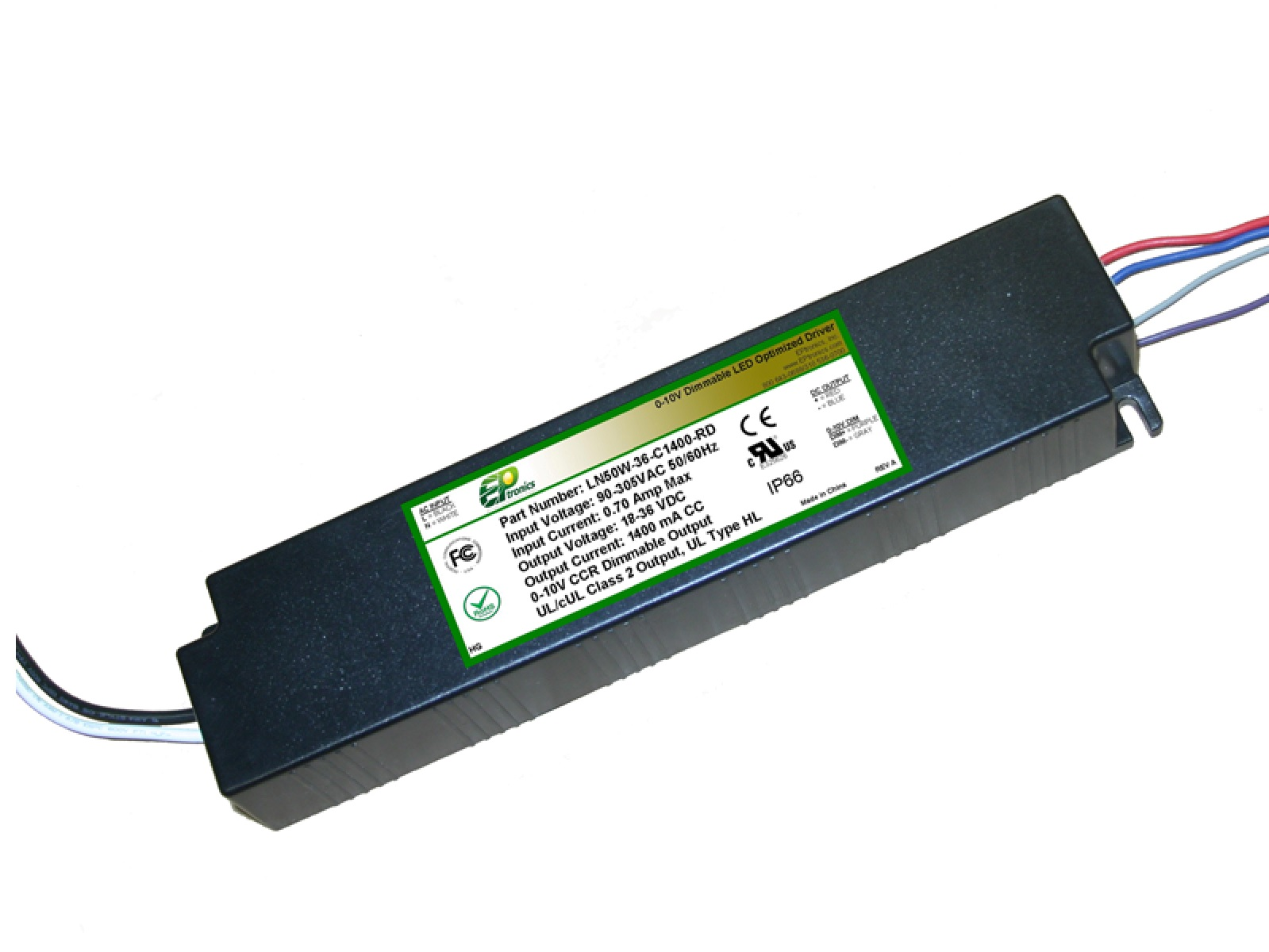 50w led driver UL Class P Type HL for Hazardous Locations