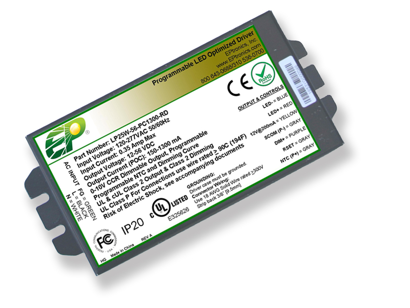 25w programmable dimmable led driver